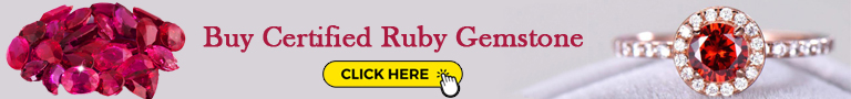 Buy Certified Ruby Gemstone