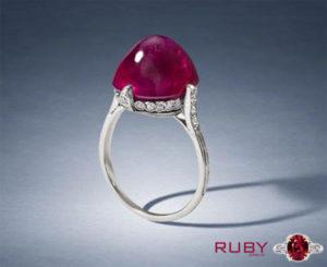 Cabochon Cut Ring