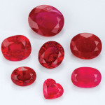 Different Cuts Of Ruby Gemstone