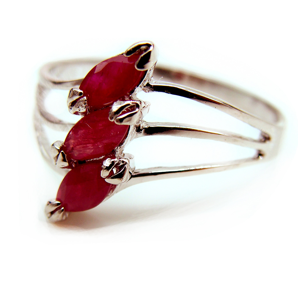Ruby Gemstone Parties Ring