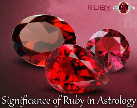 Significance of Ruby in Astrology