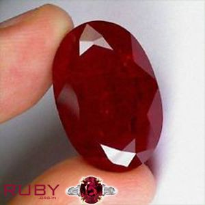 Translucent ruby