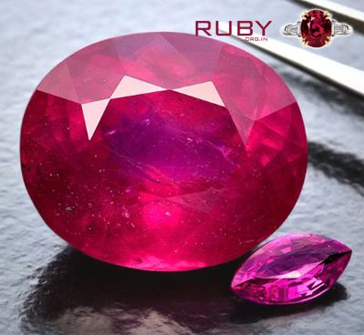lead glass filled rubies